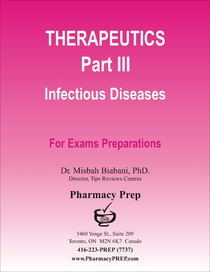 Pharmacy Prep Evaluating Exam Review & Guide - Dr. Misbah Biabani, Ph.D.